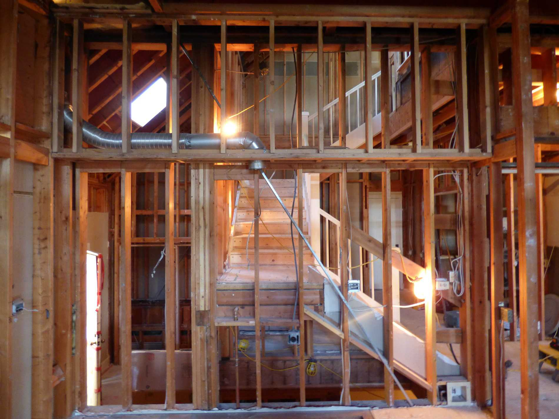 Interior home reconstruction Abbotts Fire and Flood Colorado