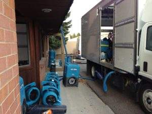 water drying equipment Abbotts Fire and Flood Colorado