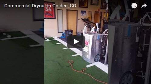 Commercial Dryout Golden Abbotts Fire and Flood Colorado