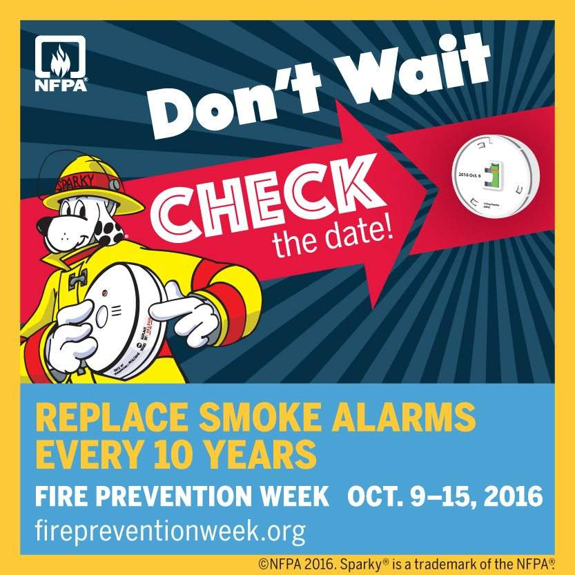 Fire Prevention Week 2016